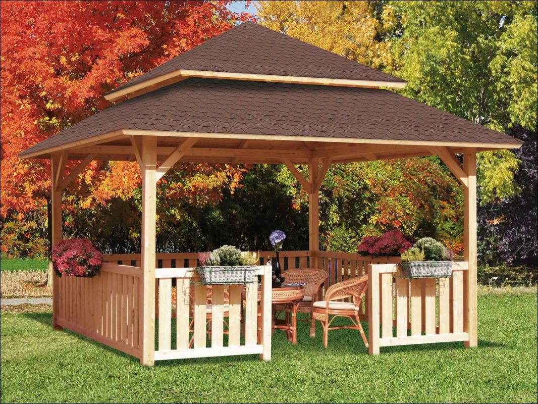 Dřevěný zahradní altán Grill