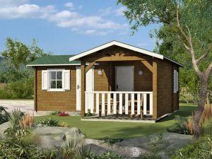 Dřevěná chata ŠUMAVA