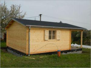 Dřevěná rekreační chata Andrea