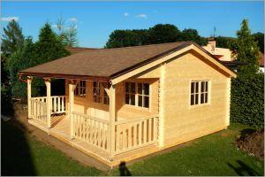 Dřevostavba chata Libor