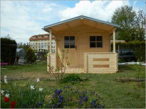 Dřevěná chatka Tomáš