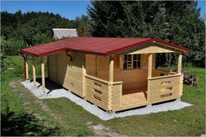 Dřevěná chata Valentina
