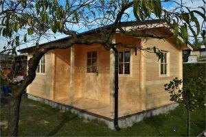 Eva 40 - dřevěná chatka