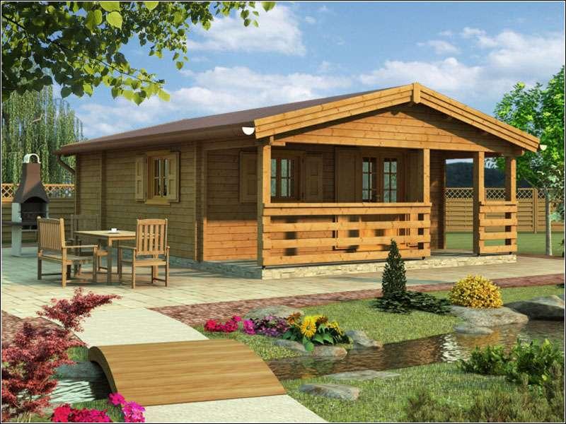 Dřevěná chata PETRA