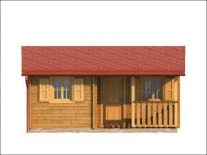 Rekreační chata ZINA-jižní strana