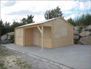 Rekreační chata ZINA-realizace