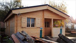 Zateplená dřevěná chata Andrea