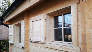 Dřevěná okna s izolačním dvojsklem