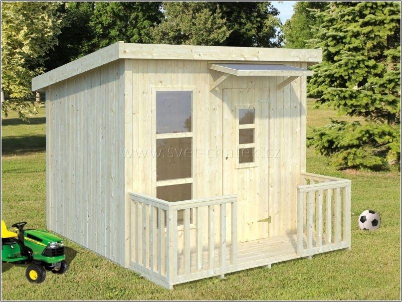 Dětský dřevěný domek Larry