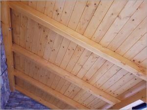 Dřevěná pergola ke vchodu