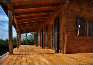 Srub Lagos - terasa dřevěná