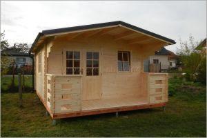 Erika s terasou - zahradní chata
