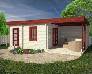 Moderní zahradní chatka Ingrid