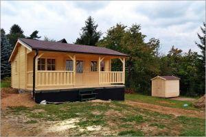 Dřevěná chata Libor, domek na nářadí Julius