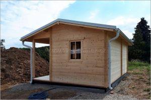 Zahradní dřevěný domek Eva