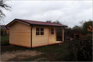 Dřevěná chata na zahradu Eva