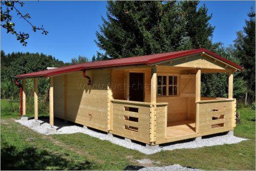Atypická dřevěná chata