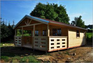 Dřevěná zahradní chata Luděk