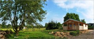 Zahradní chatka Luděk srubová