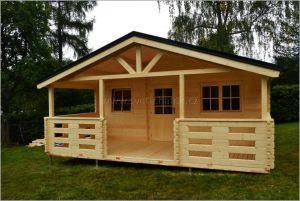 Dřevostavba chata Luděk