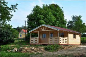 Dřevěná víkendová chata Luděk