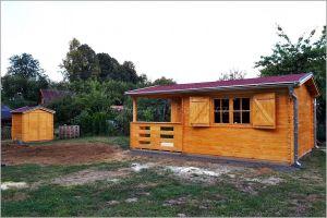 Dřevěná chatka na zahradu Emily